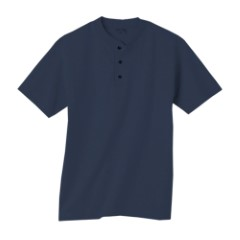 Short Sleeve Henley T- Shirt