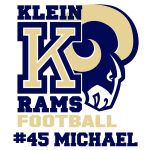 Sport Grey Rams Magnetic Decal