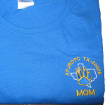 KHS AFJROTC Moms Royal Shirt