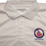 White Men Official Wicking Polo